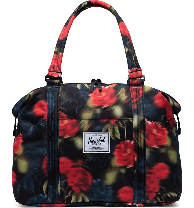 HERSCHEL SUPPLY CO. Strand Duffle Bag, Main, color, BLURRY ROSES