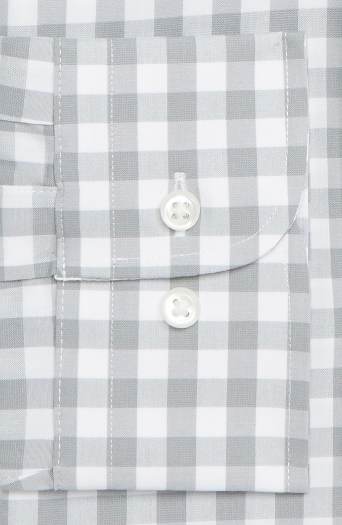 ,                             Tech-Smart Trim Fit Stretch Check Dress Shirt,                             Alternate thumbnail 12, color,                             050