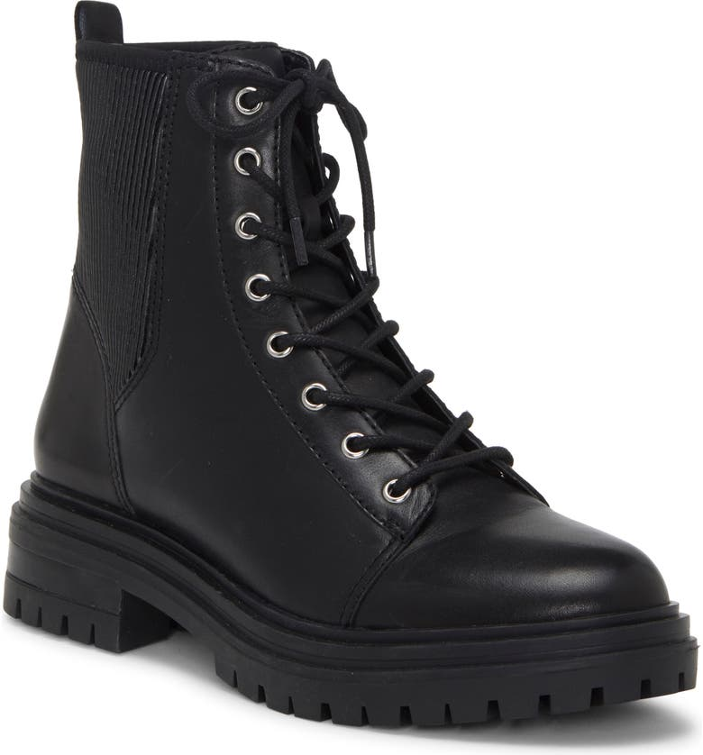 VINCE CAMUTO Bestenda Combat Boot, Main, color, 001