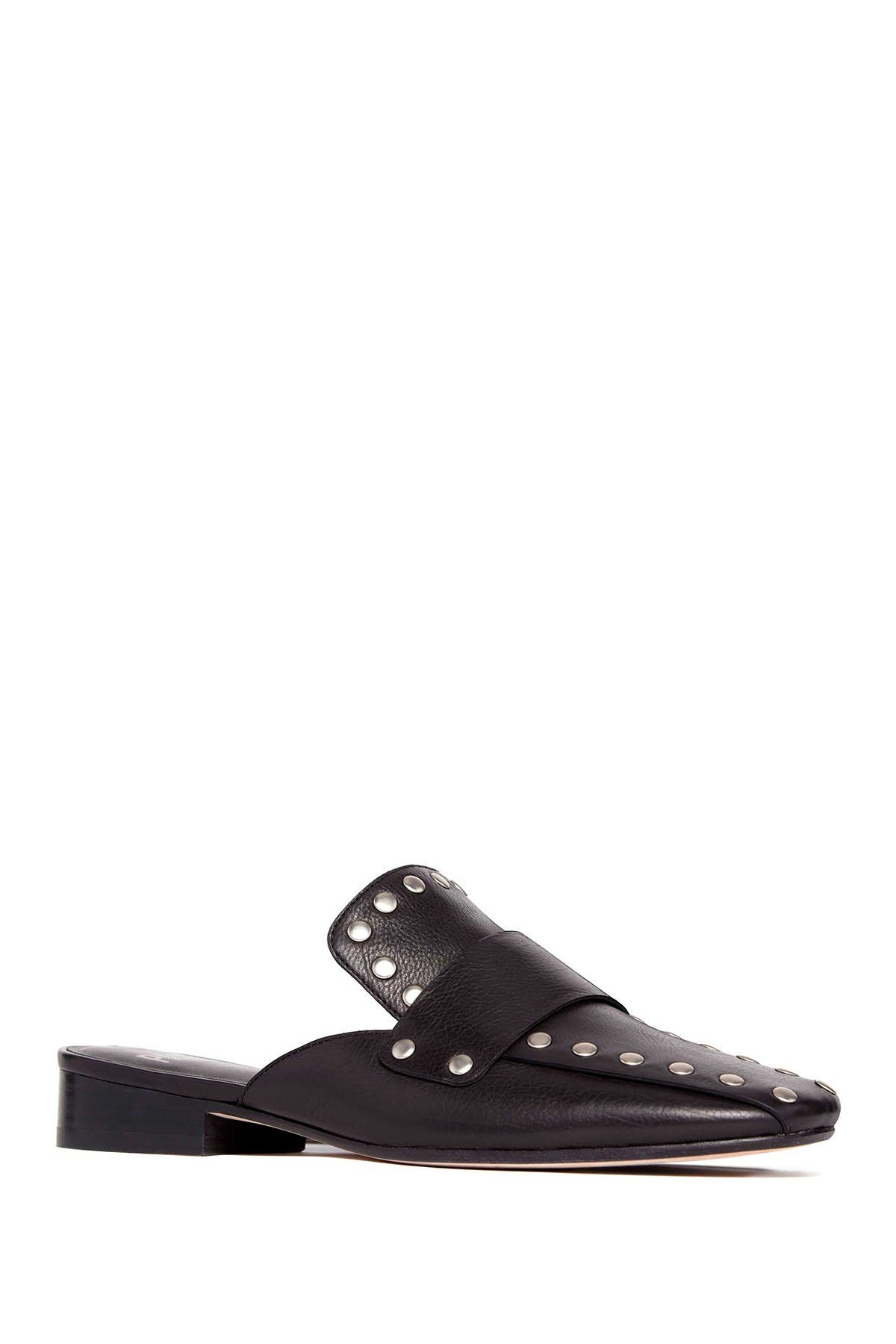 Image of PAIGE Georgie Studded Loafer Mule