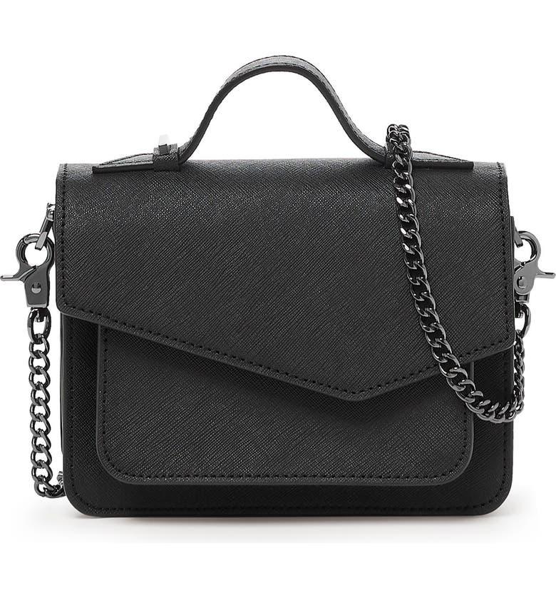 BOTKIER Mini Cobble Hill Calfskin Leather Crossbody Bag, Main, color, 001