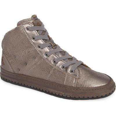 Otbt Round Trip High Top Sneaker, Grey