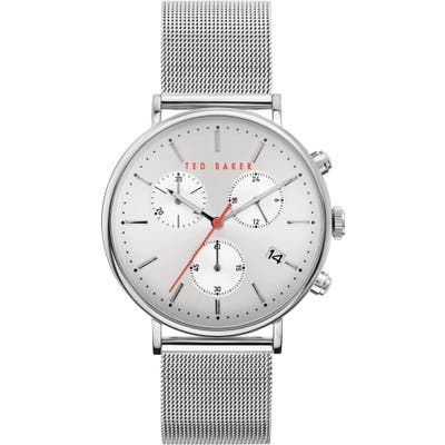 Ted Baker London Mimosaa Chronograph Mesh Strap Watch, 41Mm
