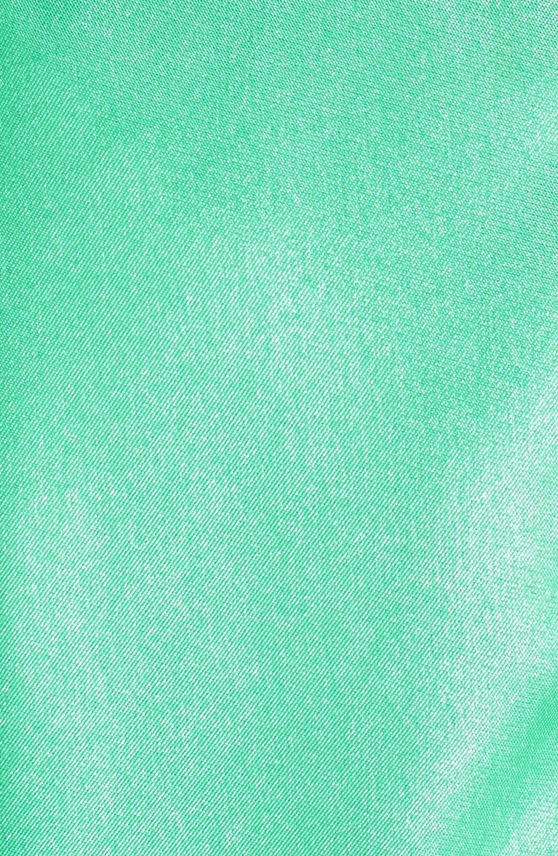 ,                             Shimmer Satin Halter Gown with Underskirt,                             Alternate thumbnail 4, color,                             439