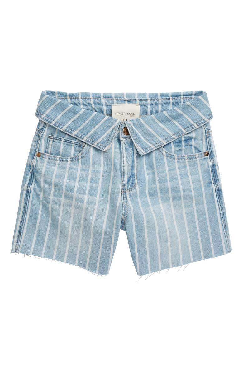 HABITUAL Zia Flip Waist Shorts, Main, color, 400