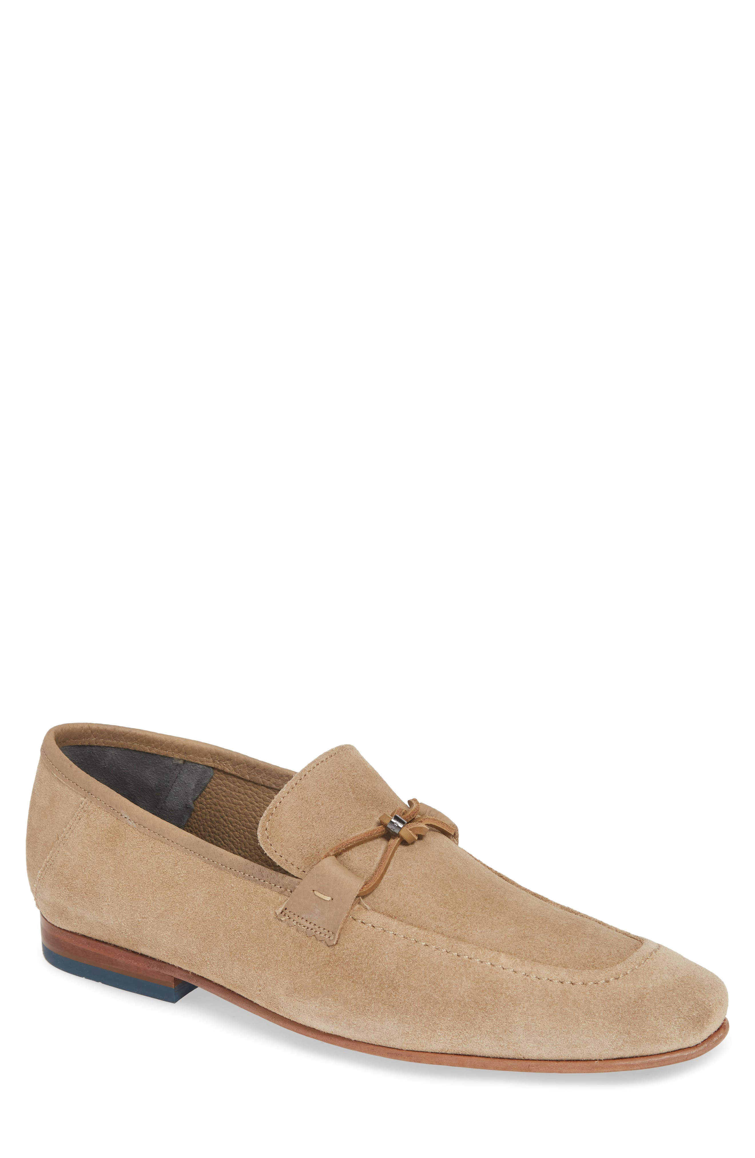 ,                             Siblac Bit Loafer,                             Main thumbnail 1, color,                             LIGHT TAN SUEDE