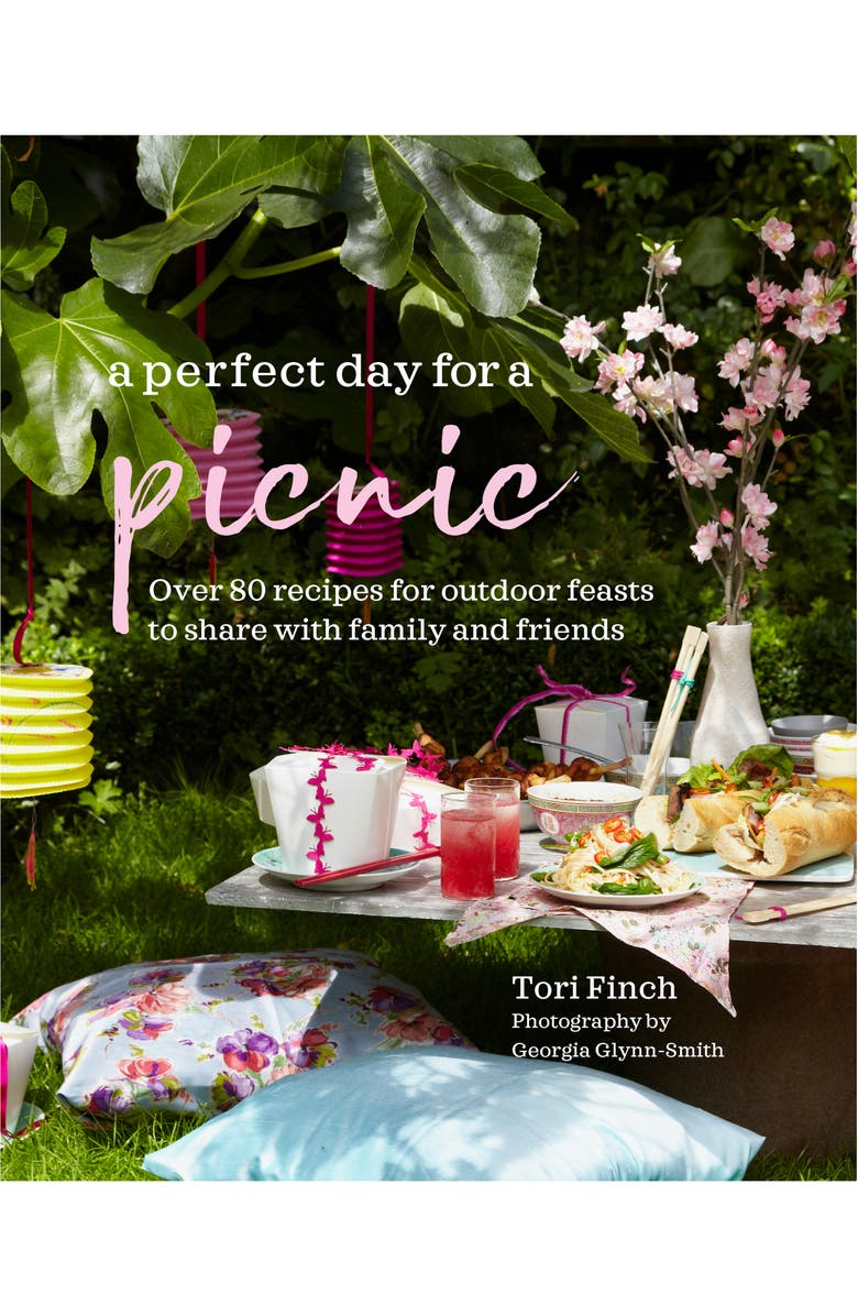 SIMON AND SCHUSTER 'A Perfect Day for a Picnic: Over 80 Recipes for Outdoor Feasts to Share with Family and Friends' Book, Main, color, MULTI