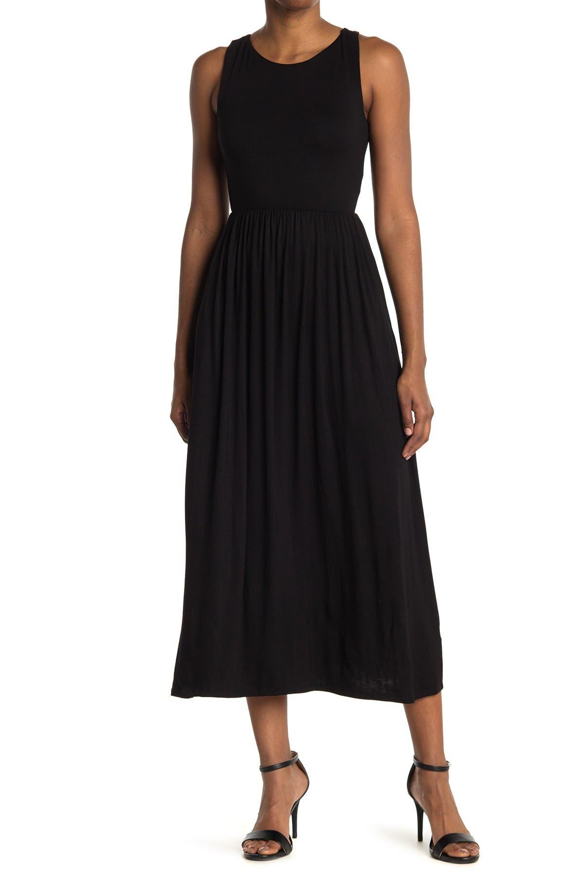 Image of Velvet Torch Sleeveless Maxi Dress