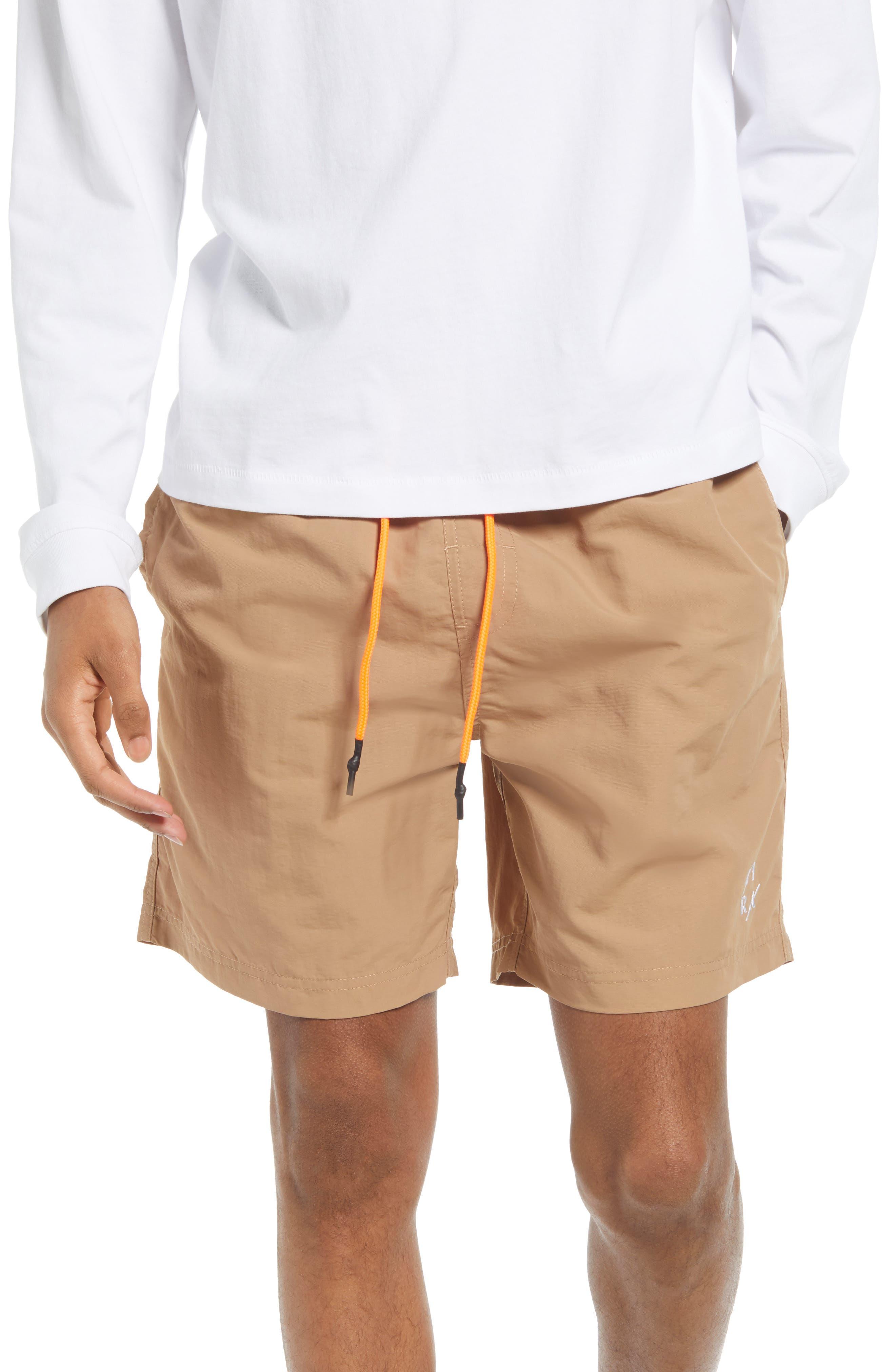 Court Nylon Jogger Shorts