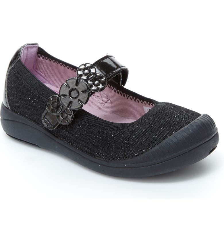 STRIDE RITE Layla Mary Jane Flat, Main, color, 001