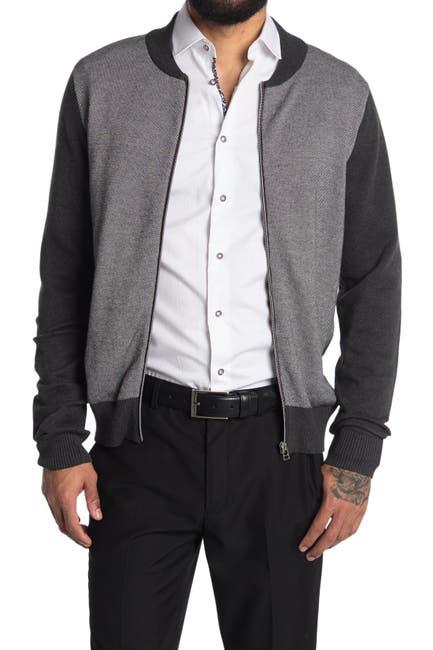 Image of SOUL OF LONDON Organic Cotton Zip Sweater