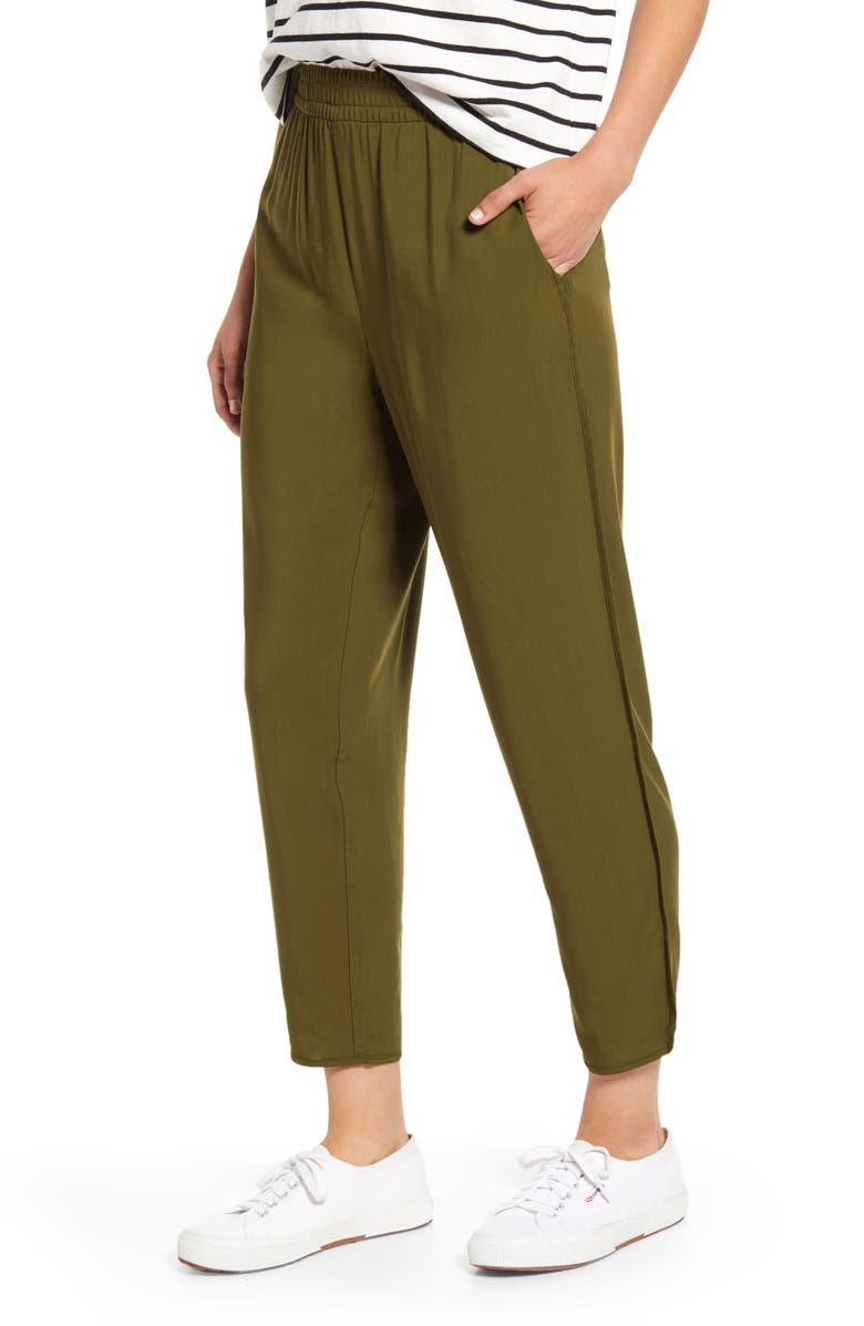 MADEWELL Track Trousers, Main, color, 300