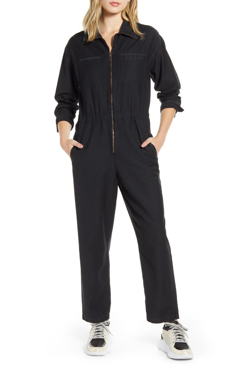 AG Controlla Cotton Boilersuit, Main, color, 018