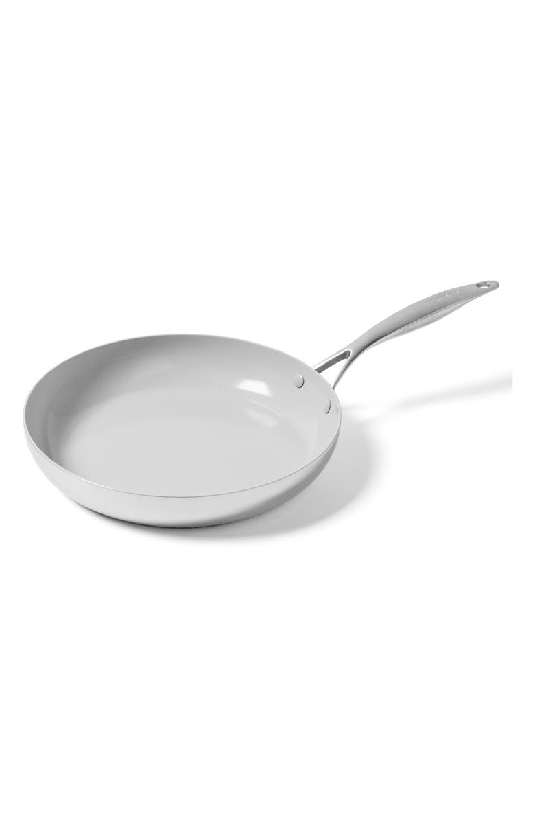 GREENPAN Venice Pro 12-Inch Ceramic Nonstick Fry Pan, Main, color, STAINLESS STEEL