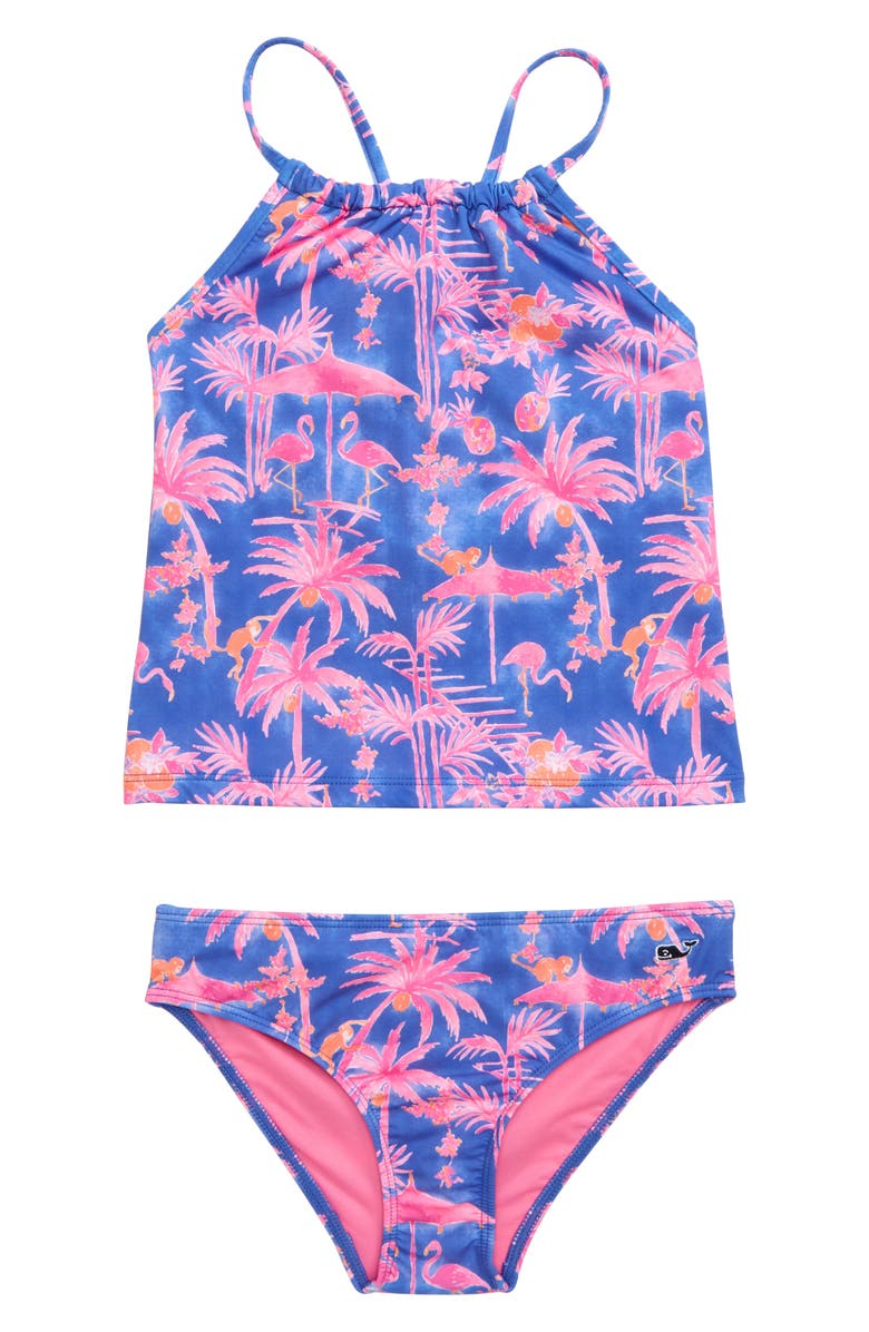 VINEYARD VINES Monkey Business Two-Piece Tankini Swimsuit, Main, color, 650