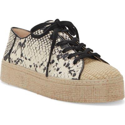 Vince Camuto Calitrie Platform Sneaker, Beige