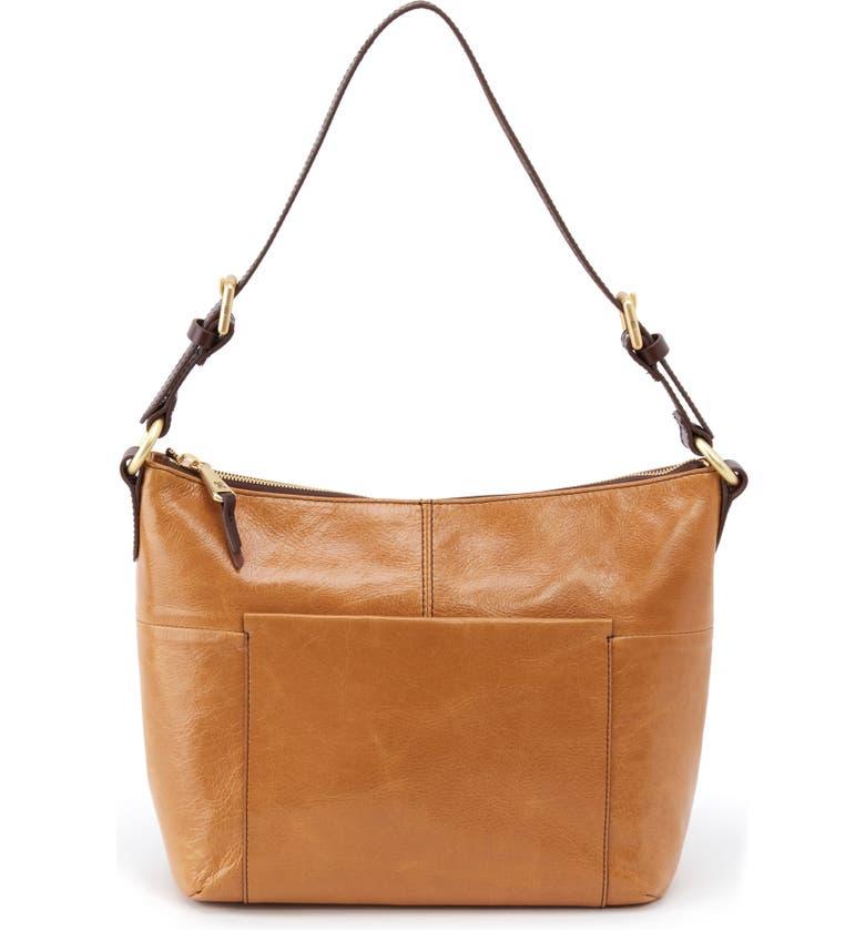 HOBO Charlie Shoulder Bag, Main, color, HONEY