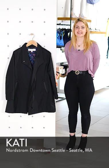 Tenley Asymmetrical Collar Coat, sales video thumbnail