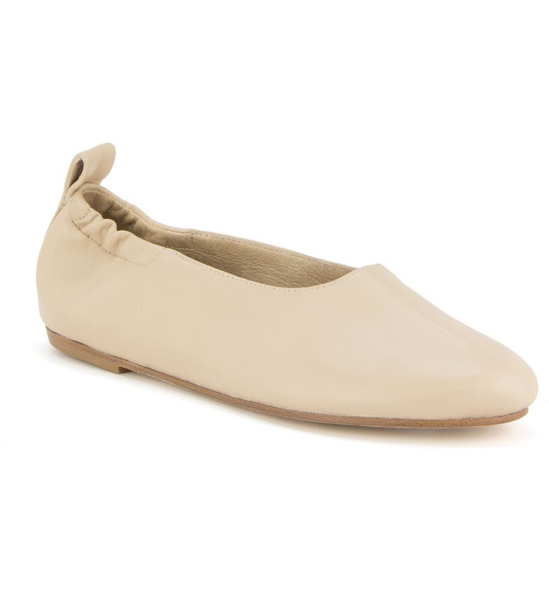 EILEEN FISHER Naomi Flat, Main, color, BARLEY LEATHER