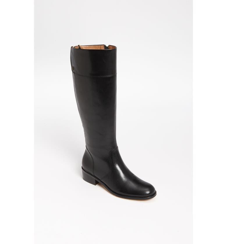 CORSO COMO 'Samual' Boot, Main, color, BLACK FLORENCE LEATHER