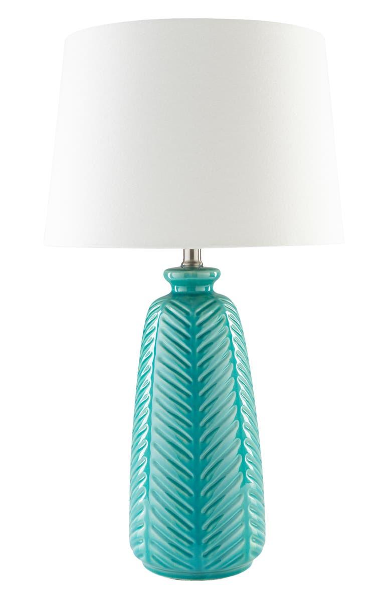 SURYA HOME Gilani Table Lamp, Main, color, BLUE