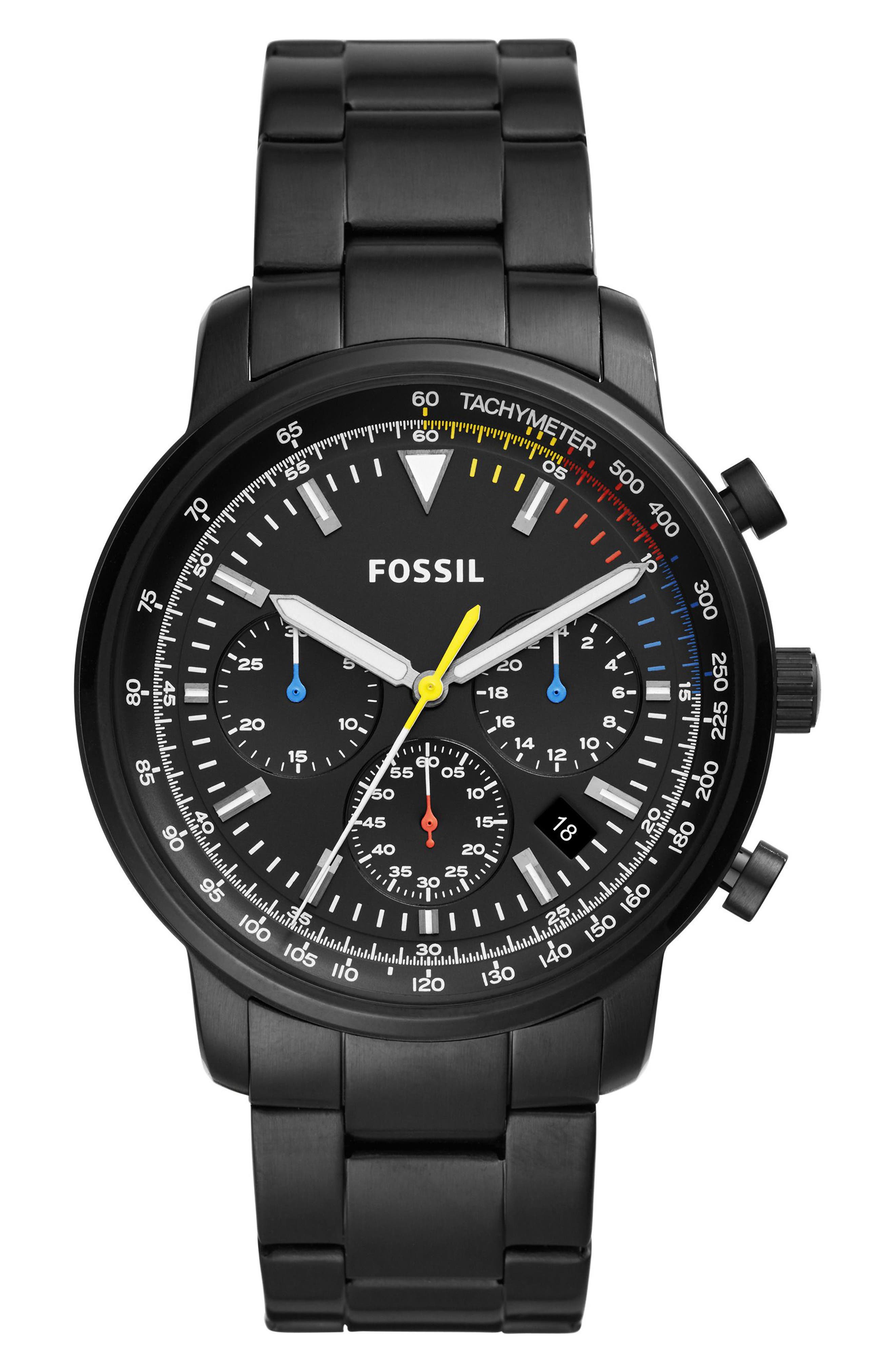 ,                             Goodwin Chonometer Bracelet Watch, 44mm,                             Main thumbnail 1, color,                             004