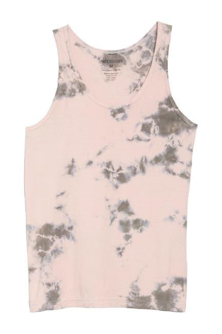 Image of Original Paperbacks Tie Dye Tank Top