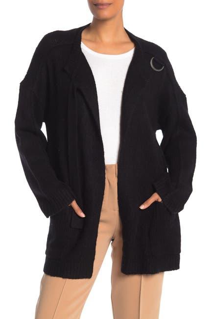Image of 360 Cashmere Selene Oversized Knit Cashmere Cardigan