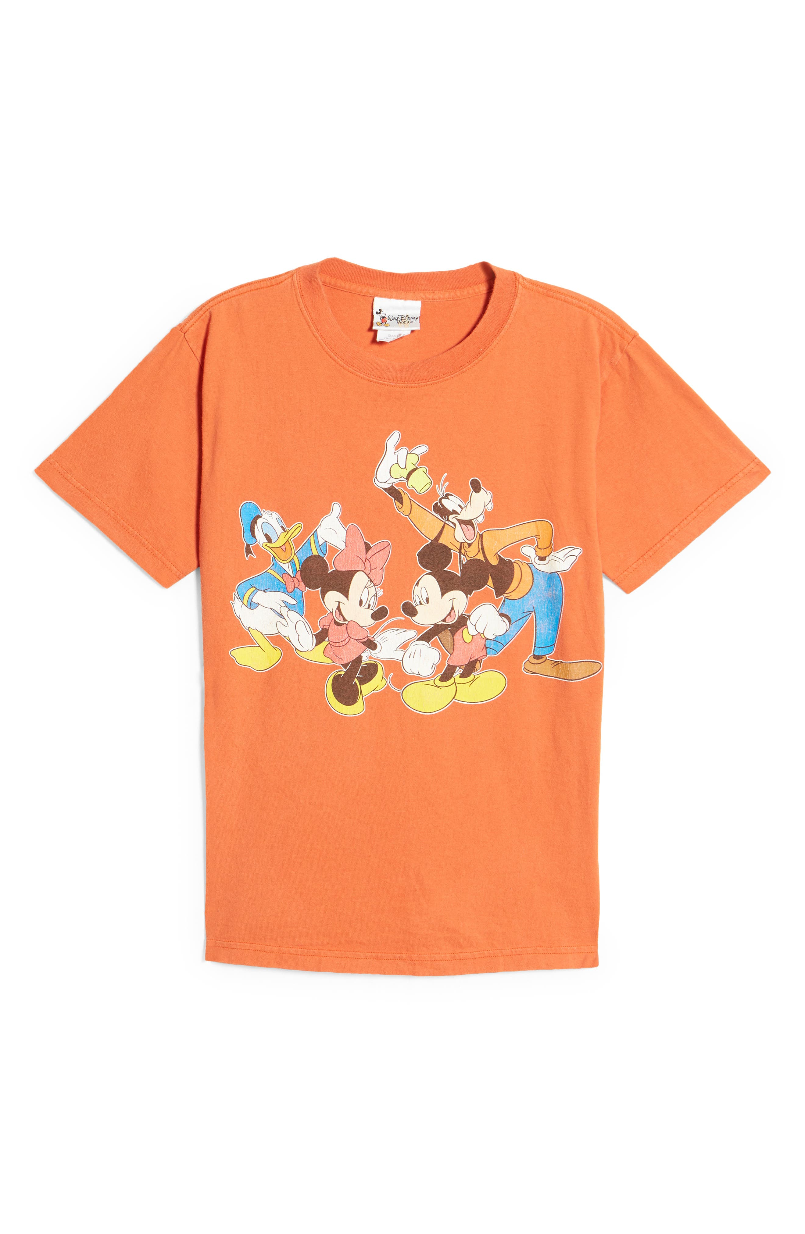 Unisex Secondhand Mickey & Friends Graphic Tee