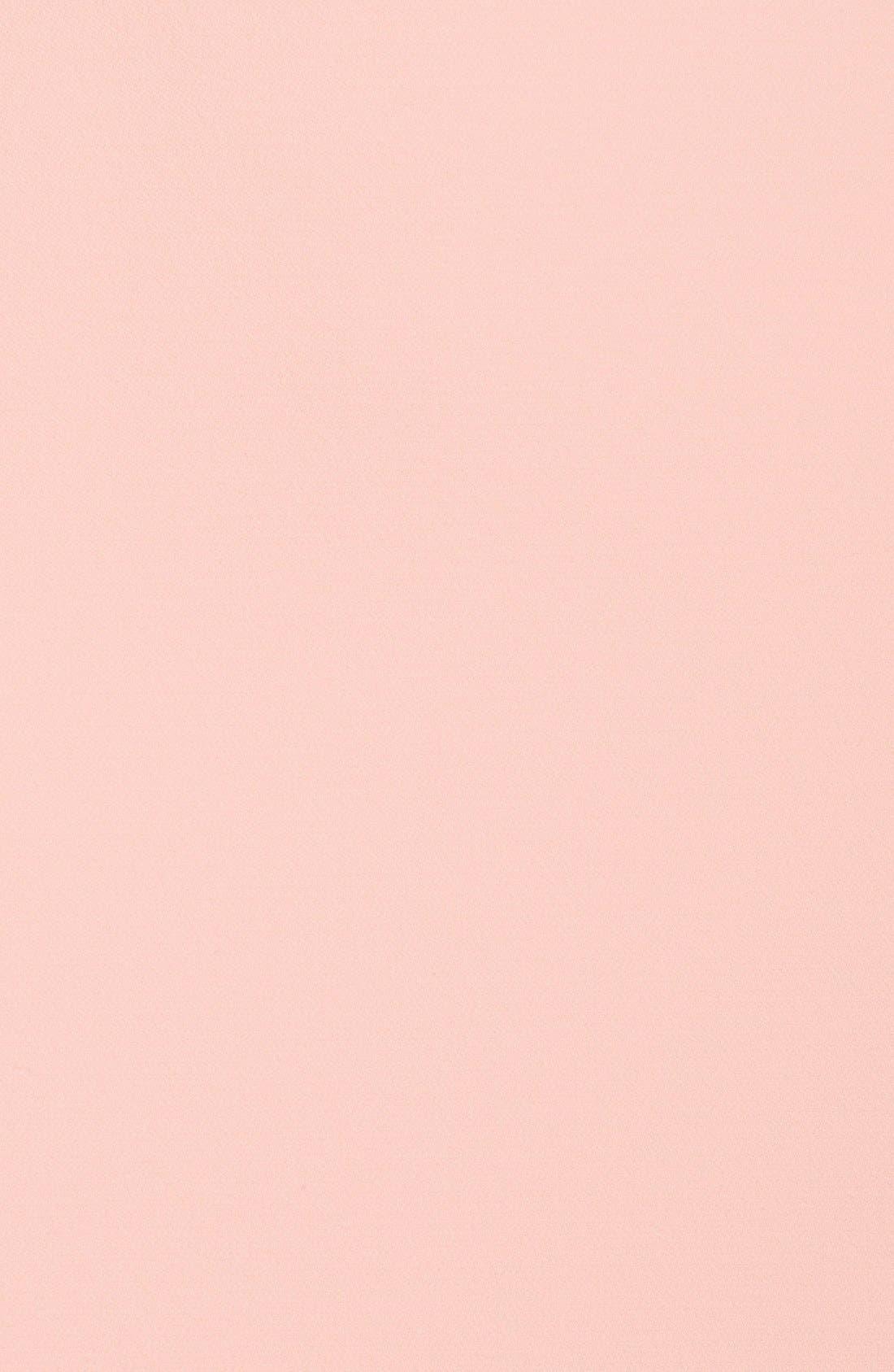 ,                             Illusion Yoke Crepe Sheath Dress,                             Alternate thumbnail 43, color,                             650
