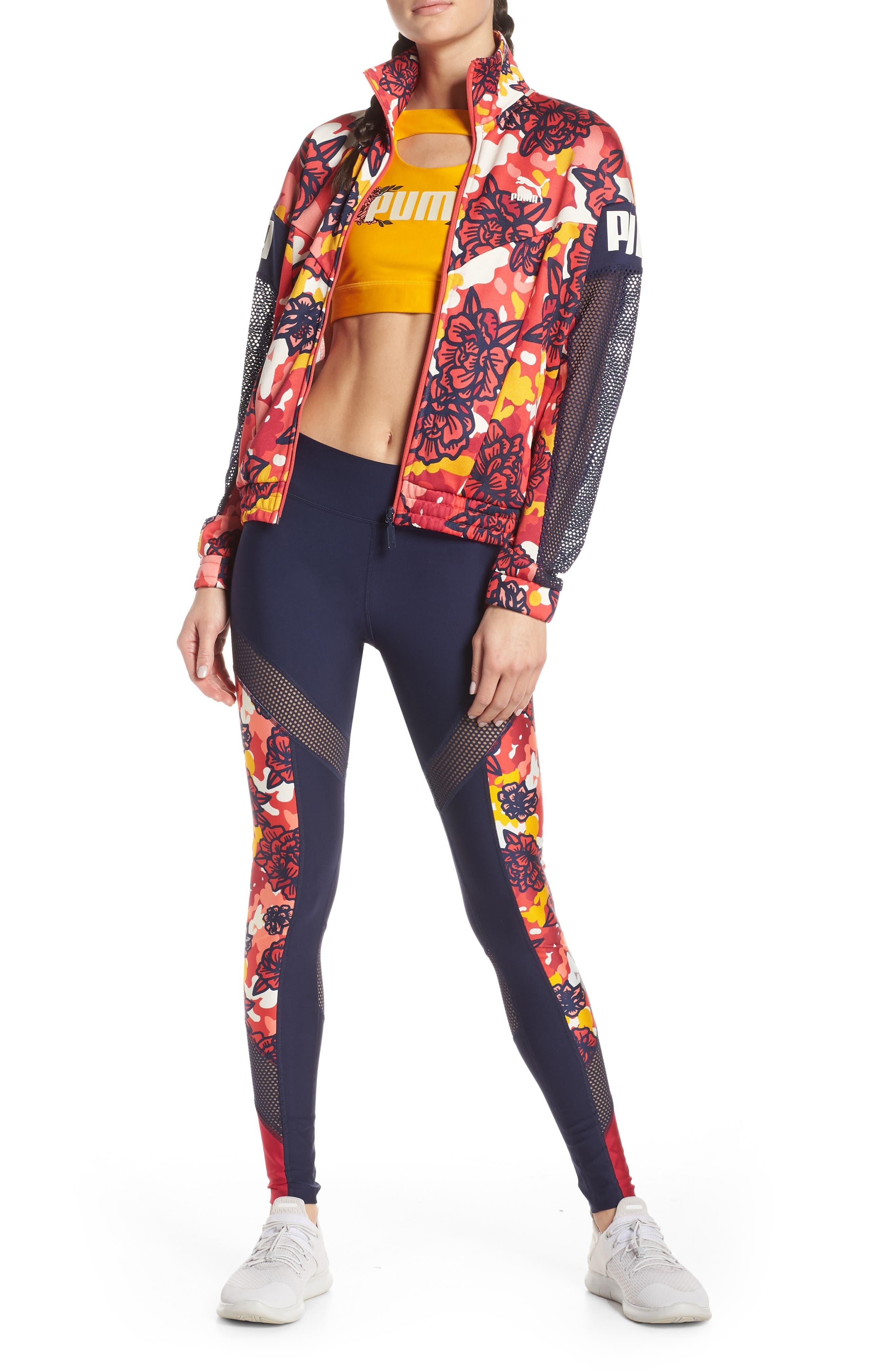 ,                             Flourish XTG Jacket,                             Alternate thumbnail 8, color,                             HIBISCUS MULTI