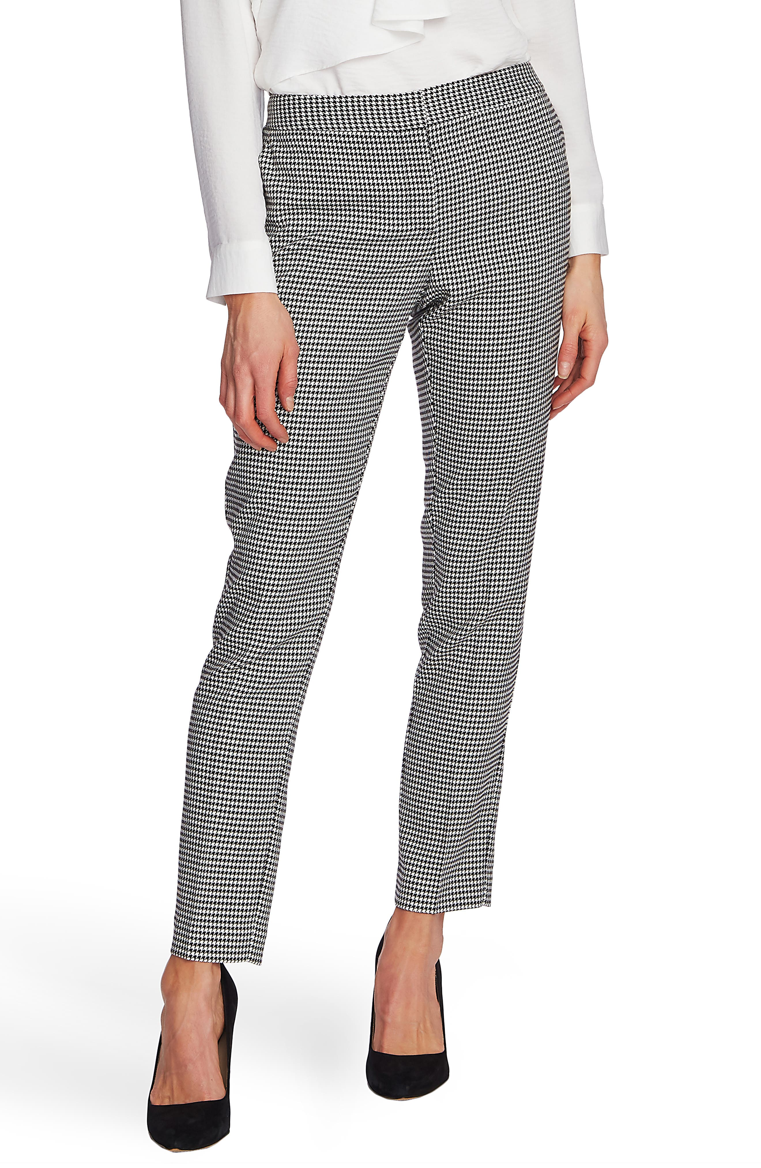 Vince Camuto Pants Houndstooth Ankle Pants