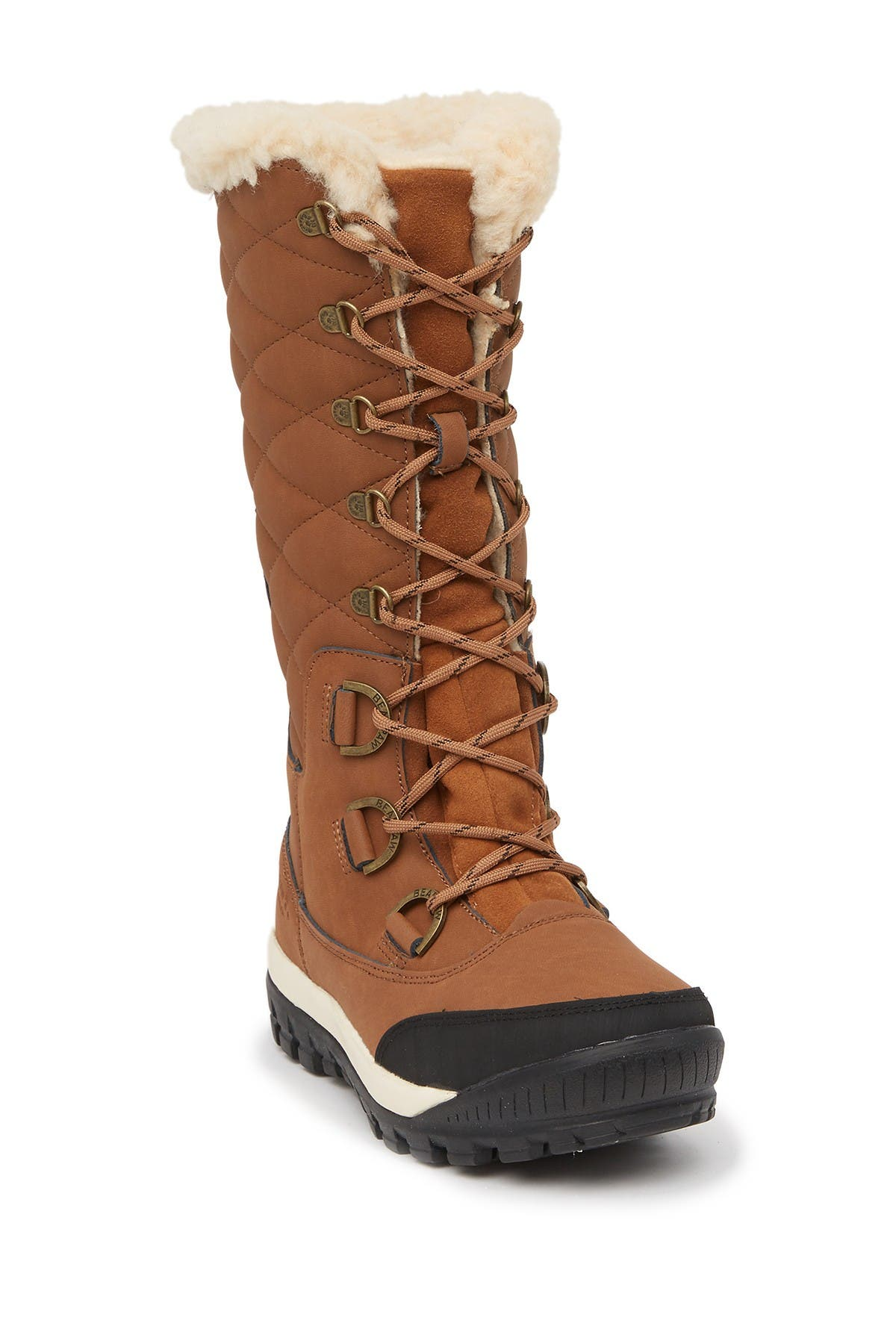 Image of BEARPAW Isabella Genuine Sheepskin Lined Lace-Up Boot