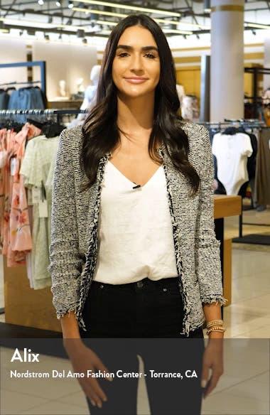 Iris Long Sleeve Chiffon Wrap Dress, sales video thumbnail