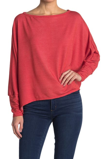 Image of Go Couture Slouchy Dolman Sleeve Sweater