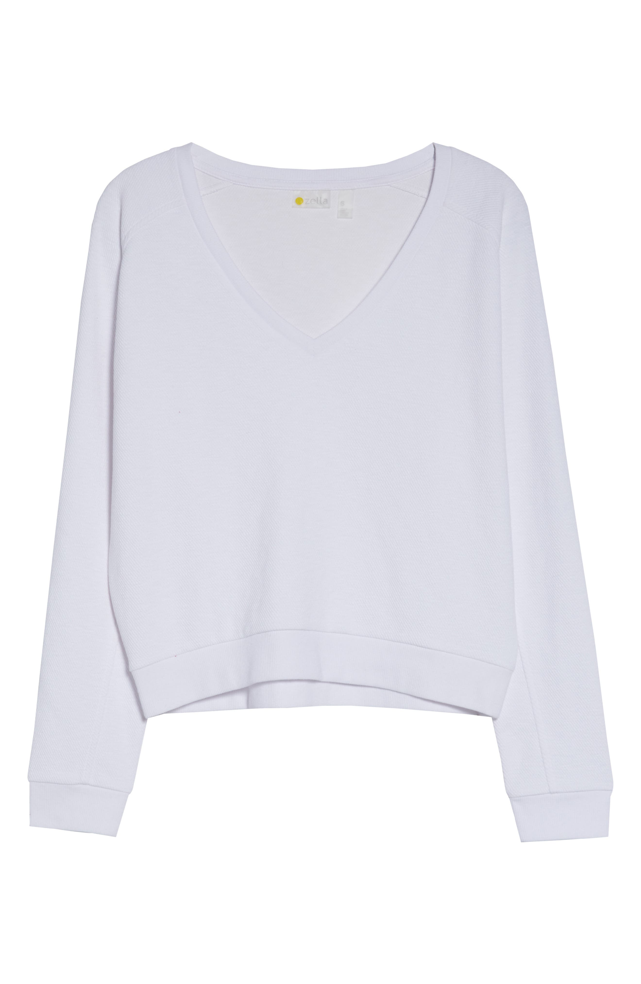 ,                             Vienna Pullover,                             Alternate thumbnail 9, color,                             WHITE