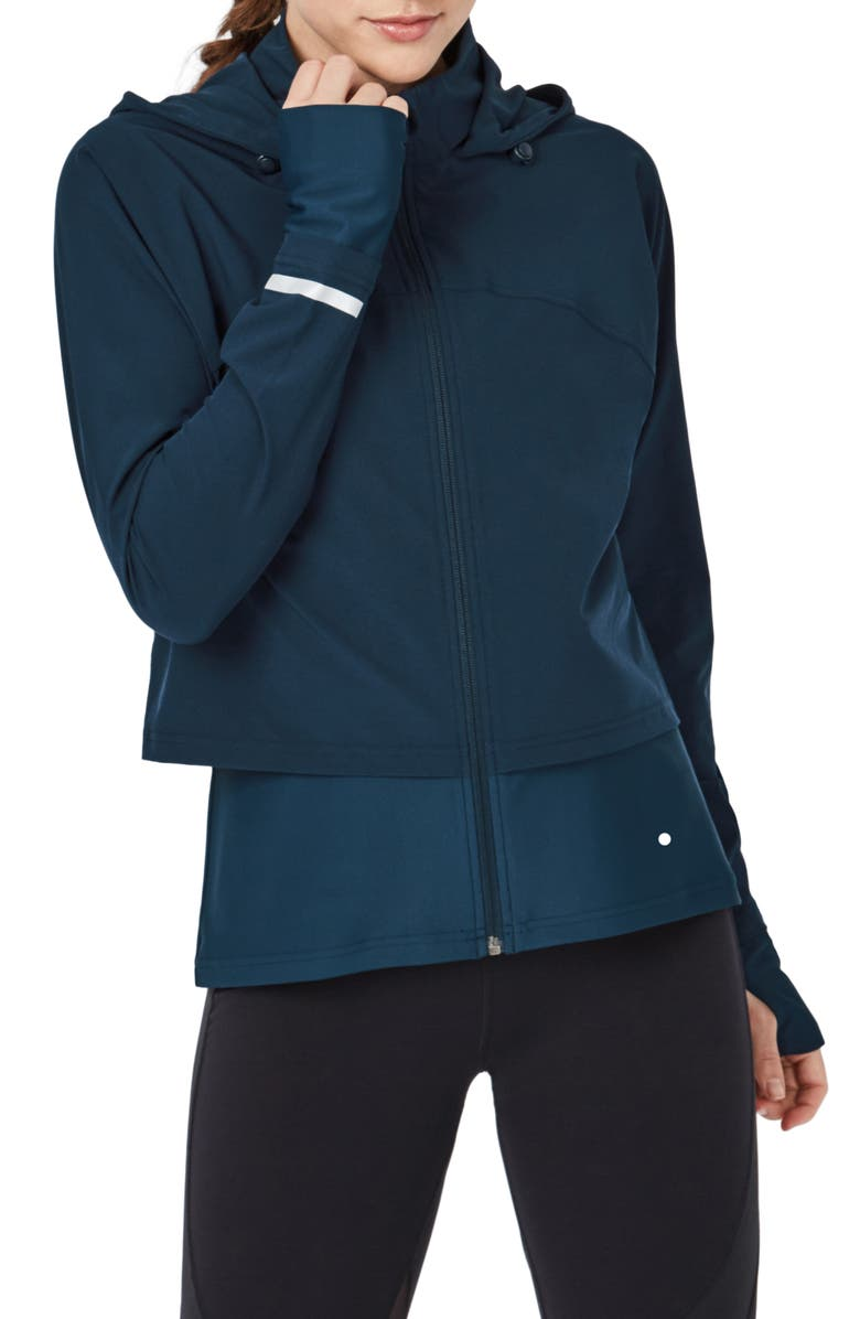 SWEATY BETTY Fast Track Jacket, Main, color, BEETLE BLUE