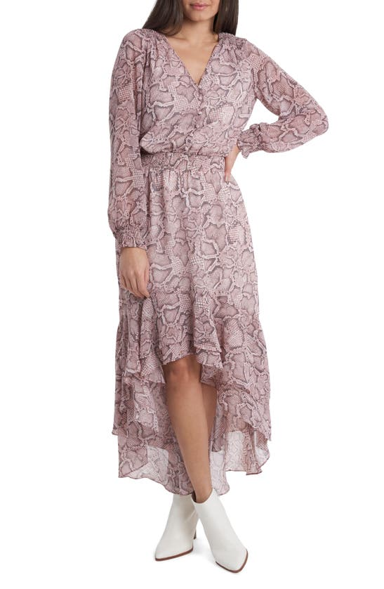 1.state WOODLAND FLORAL LONG SLEEVE DRESS
