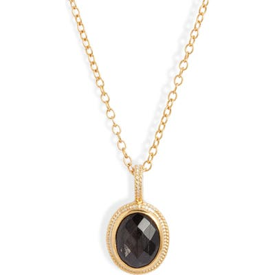 Anna Beck Oval Stone Pendant Necklace