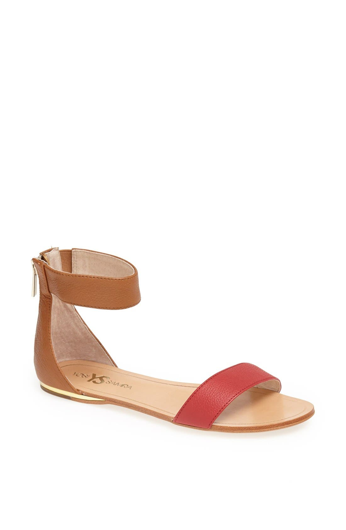 ,                             'Cambelle' Ankle Strap Sandal,                             Main thumbnail 29, color,                             210