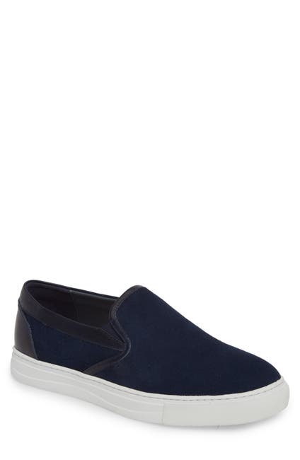 Image of English Laundry Vane Suede Slip-On Sneaker