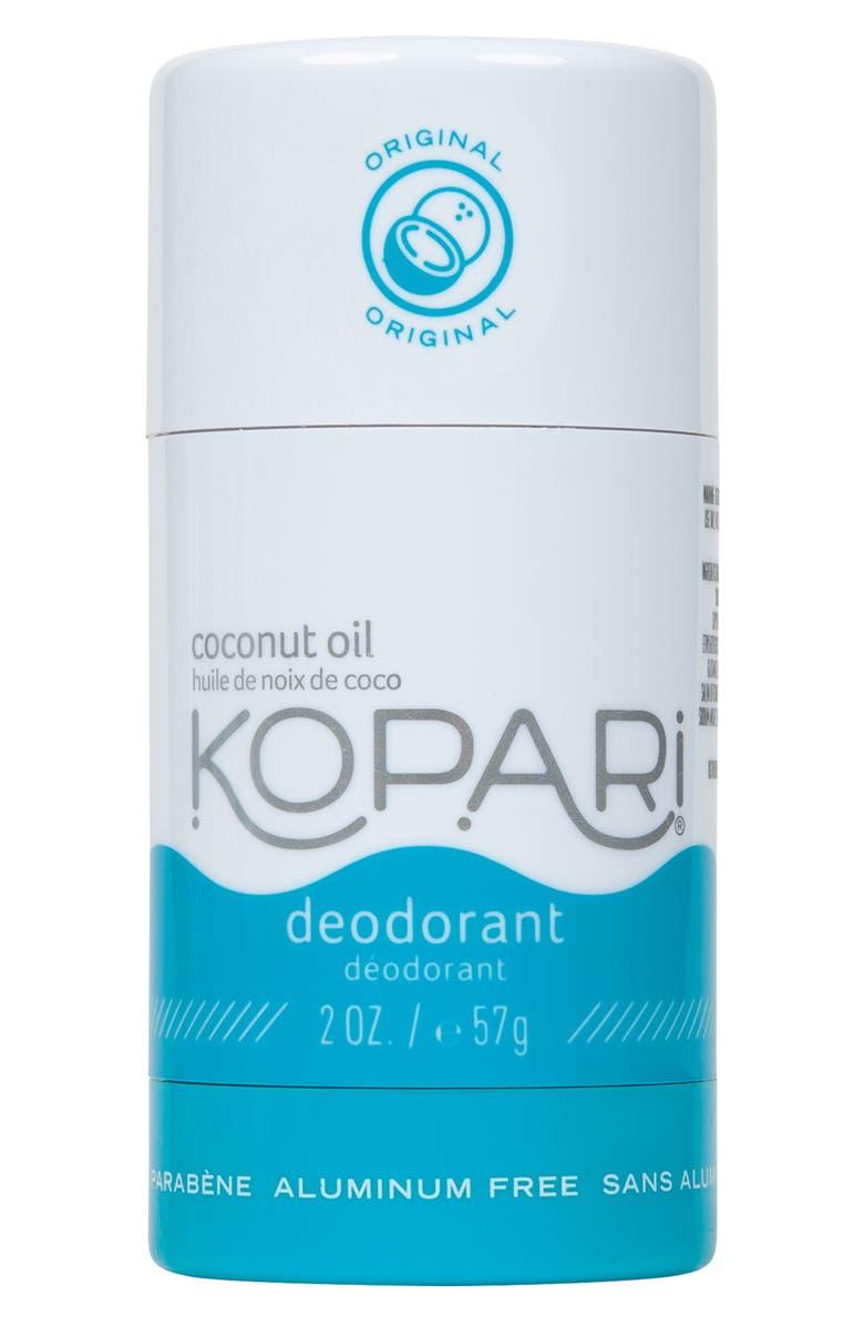 KOPARI Natural Coconut Original Deodorant, Main, color, ORIGINAL