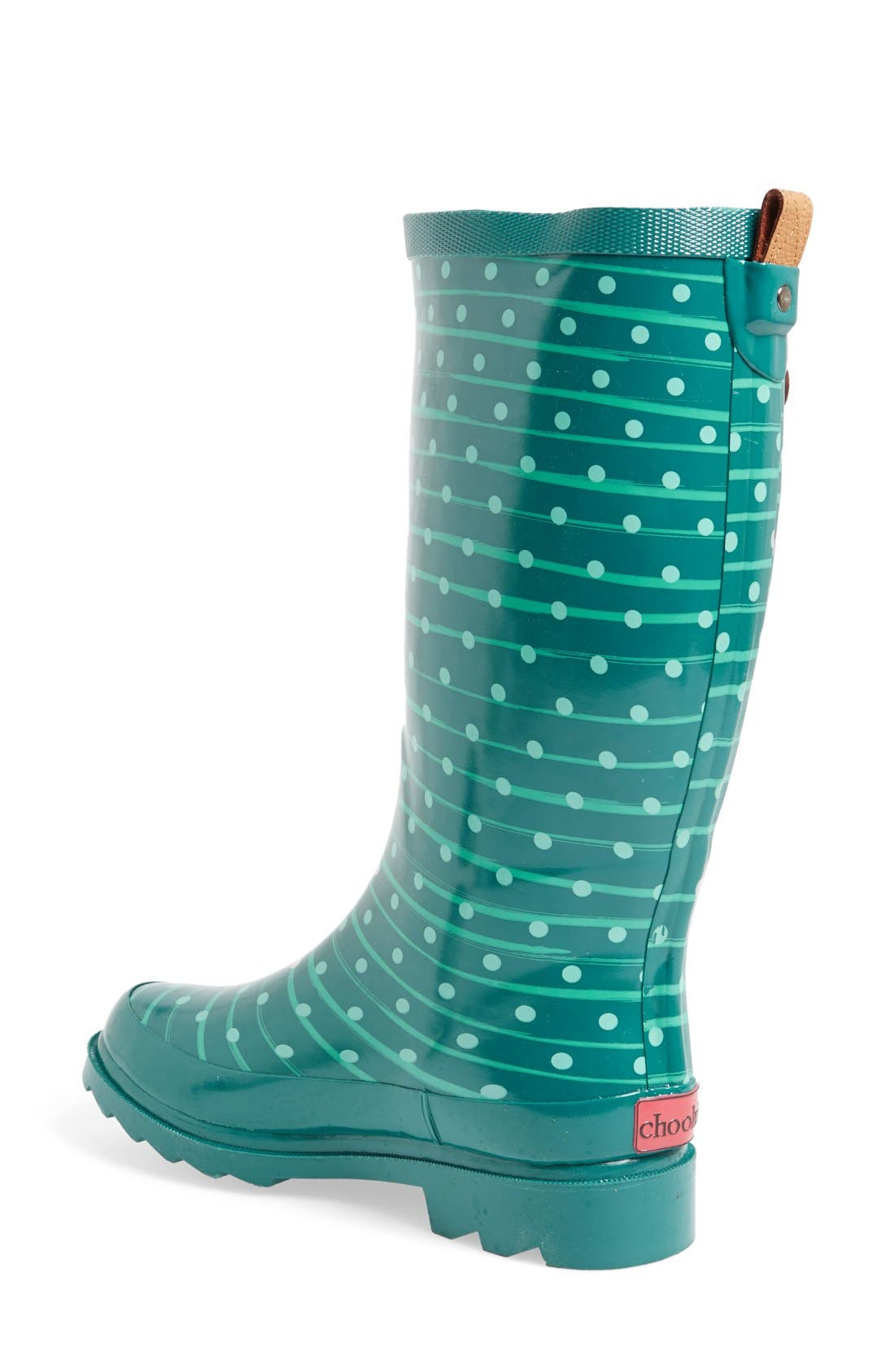 ,                             'Top Solid' Rain Boot,                             Alternate thumbnail 91, color,                             444