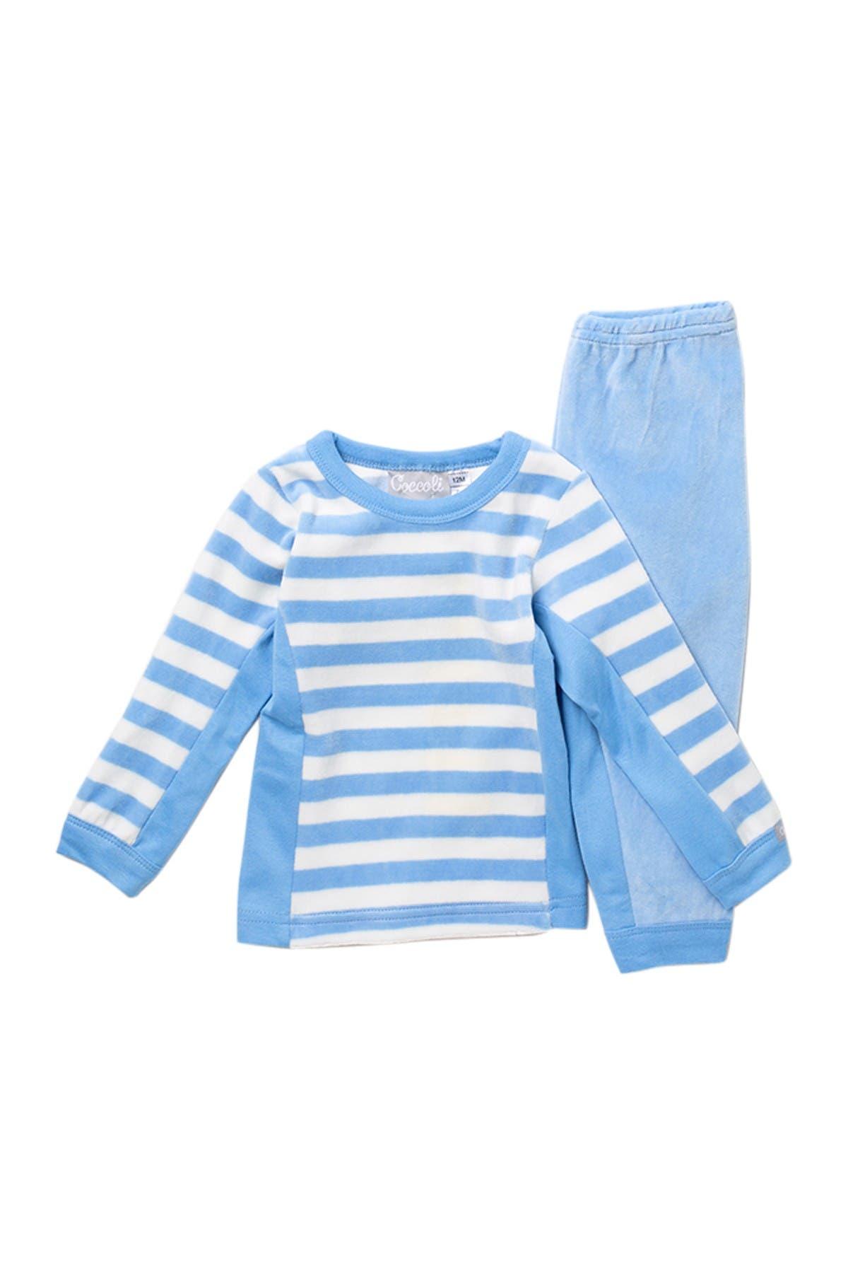 Image of Coccoli Velour Pajama Set
