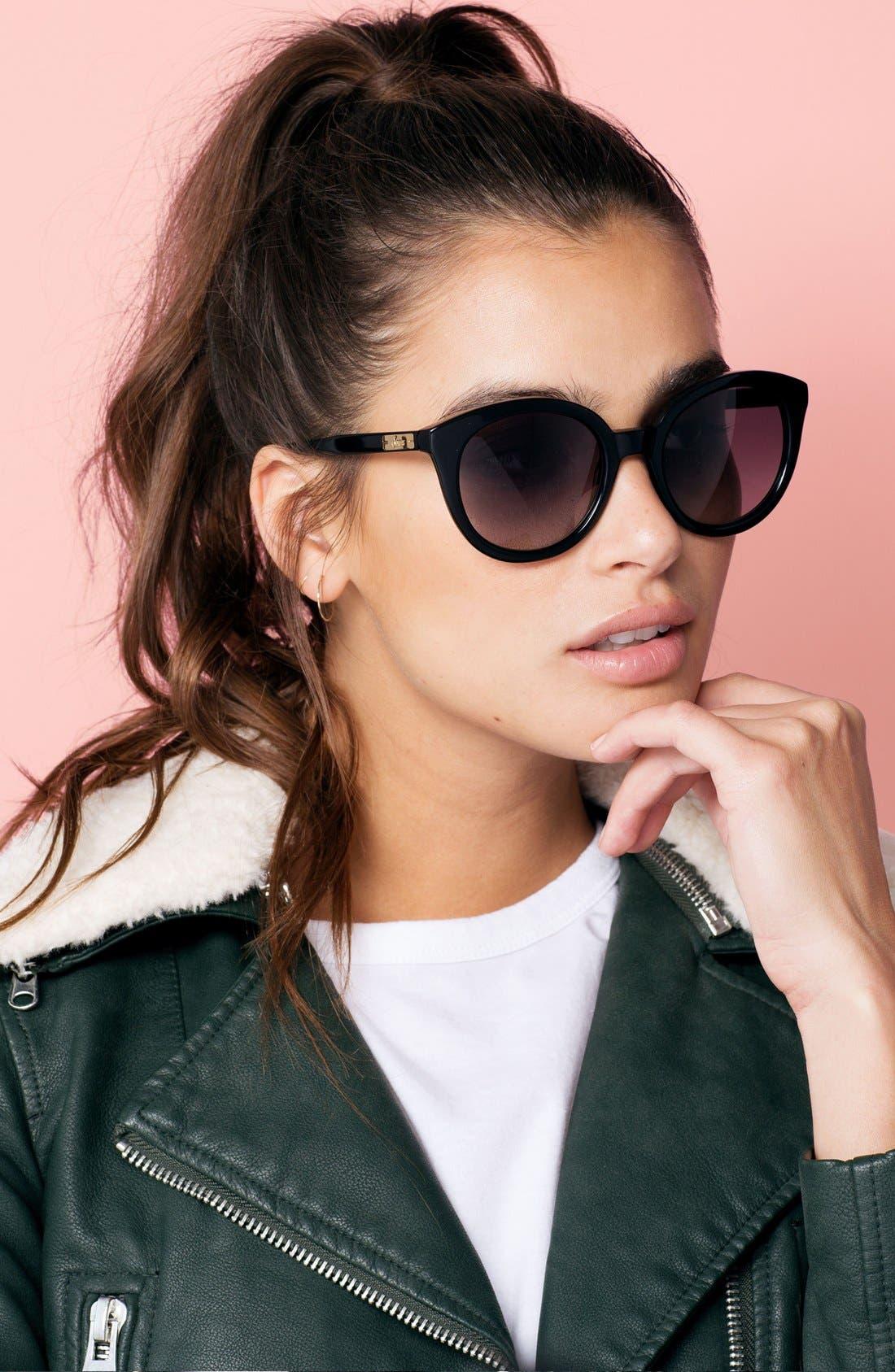 ,                             Holland 50mm Gradient Round Sunglasses,                             Alternate thumbnail 6, color,                             001