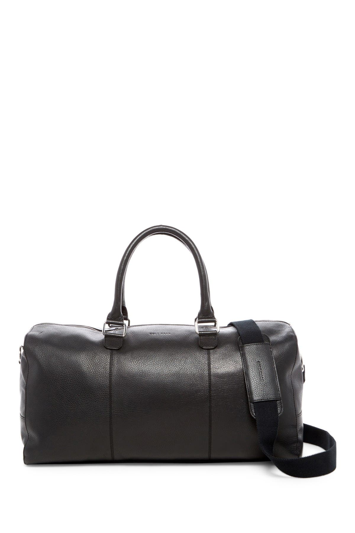 Image of Cole Haan Leather Duffel Bag