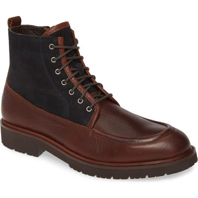 Johnston & Murphy Sanders Moc Toe Boot- Brown