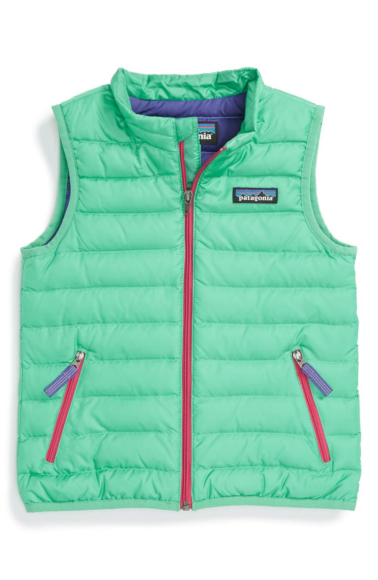 PATAGONIA Quilted Down Vest, Main, color, 440