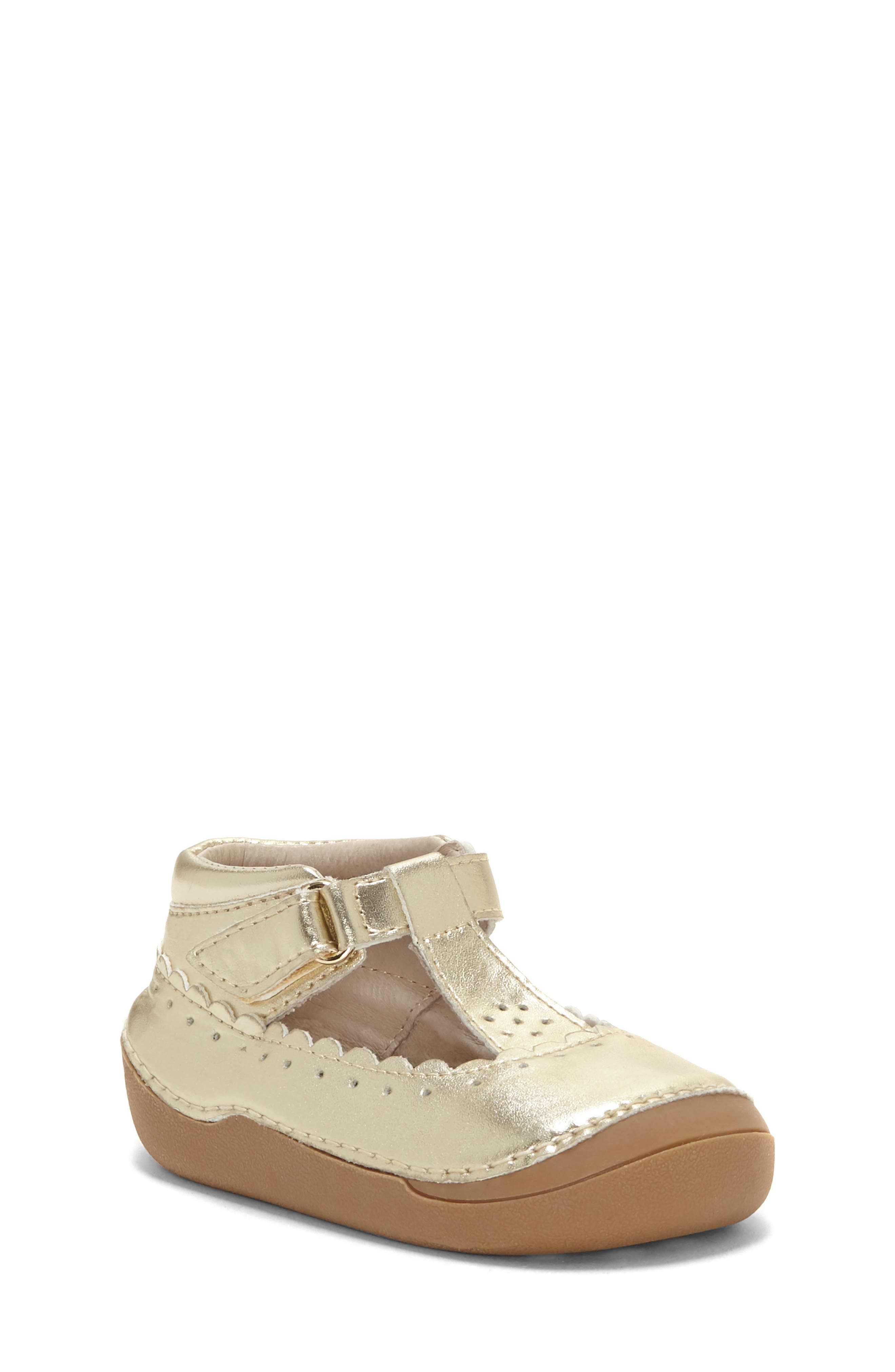 Gavina T-Strap Sneaker Bootie, Main, color, SOFT GOLD