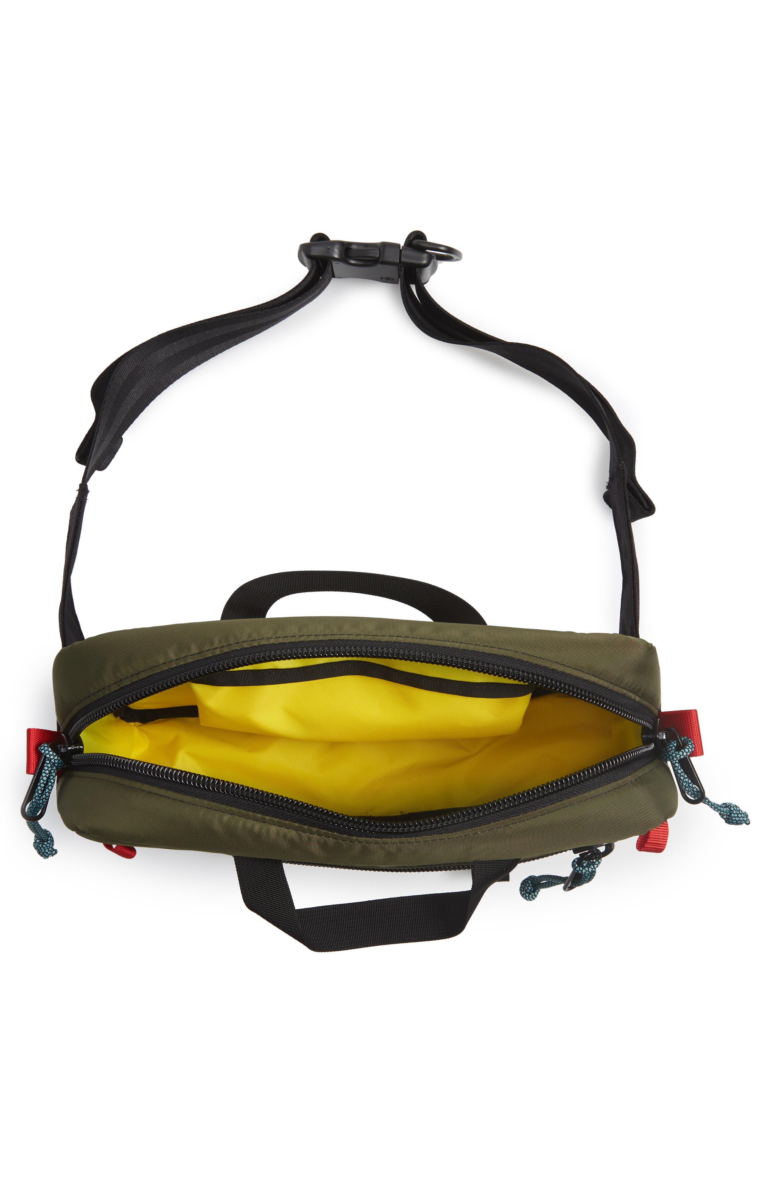 ,                             Quick Pack Belt Bag,                             Alternate thumbnail 7, color,                             OLIVE/ BLACK